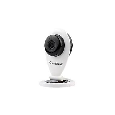 Simple Home™ XCS7-1001 Wireless Smart Night Vision Security Camera, White