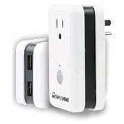 Simple Home™ XWS7-1002 White Smart Wi-Fi Plug with Energy Monitor