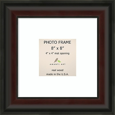 Amanti Art Mahogany Fade Wood Photo Frame 8
