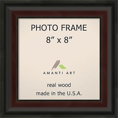 Amanti Art Mahogany Fade Wood Photo Frame 8