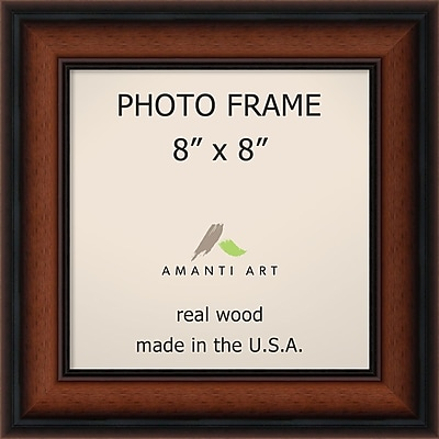 Amanti Art Bella Noce Walnut Wood Photo Frame 8