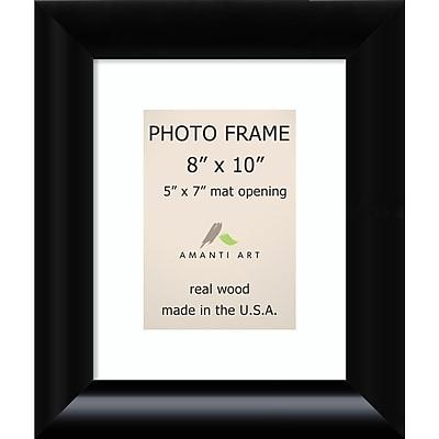 Amanti Art Steinway Black Wood Photo Frame 8