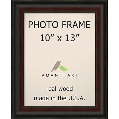 Amanti Art Mahogany Fade Wood Photo Frame 10