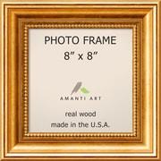 "Amanti Art  Townhouse Gold Wood Photo Frame 8"" x 8""  (DSW1385298)"