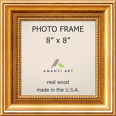 Amanti Art Townhouse Gold Wood Photo Frame 8