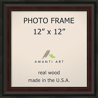 Amanti Art Mahogany Fade Wood Photo Frame 12