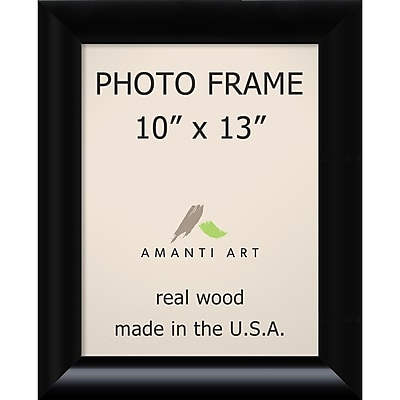 Amanti Art Steinway Black Wood Photo Frame 10