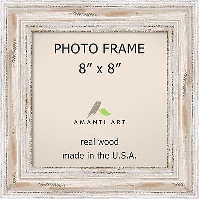 Amanti Art Alexandria Whitewash Wood Photo Frame 8
