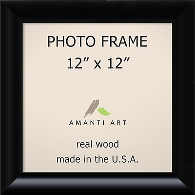 Amanti Art Steinway Black Wood Photo Frame 12