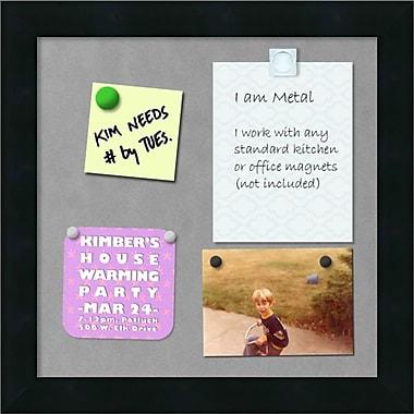 Amanti Art Mezzanotte Magnetic Board, 12