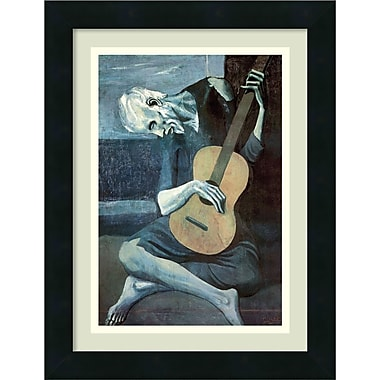Amanti Art Pablo Picasso The Old Guitarist, 1903 Framed Art Print, 13