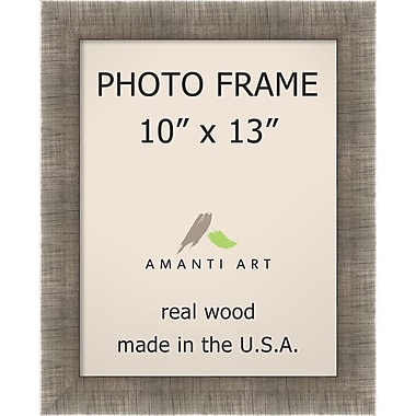 Amanti Art Silver Leaf Wood Photo Frame 10