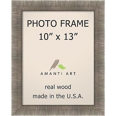 Amanti Art Silver Leaf Wood Photo Frame 10