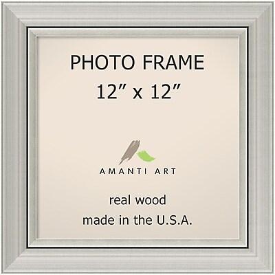 Amanti Art Romano Silver Wood Photo Frame 12