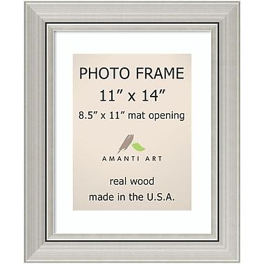 Amanti Art Romano Silver Wood Photo Frame 11