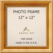 "Amanti Art  Townhouse Gold Wood Photo Frame 12"" x 12"" (DSW1385300)"