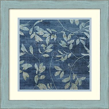 Amanti Art Mali Nave Denim Branches I Framed Art Print, 18