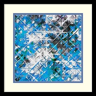 Amanti Art ? Impression encadrée « Starscreen IV » par James Burghardt, 17 x 17 po (DSW1418560)