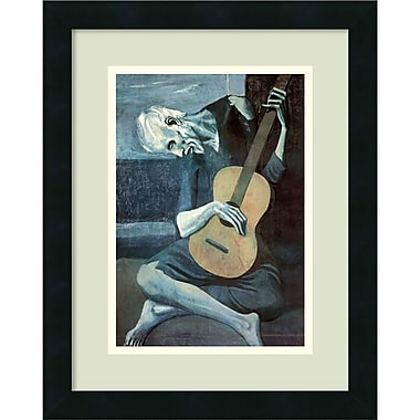 Amanti Art Pablo Picasso The Old Guitarist, 1903 Framed Art Print, 14