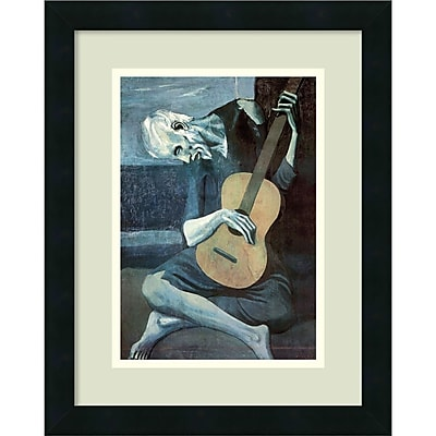 Amanti Art Pablo Picasso 'The Old Guitarist, 1903' Framed Art Print 14