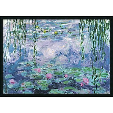 Amanti Art Claude Monet 'Nympheas' Framed Art Print with Gel Coated Finish 37