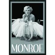 "Amanti Art Milton H. Greene 'Marilyn Monroe - Ballerina' Framed Art Print with Gel Coated Finish 25"" x 37"" (DSW1408624)"