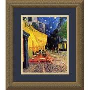 "Amanti Art Vincent van Gogh 'Cafe Terrace At Night, 1888' Framed Art Print 14"" x 16"" (DSW2967071)"