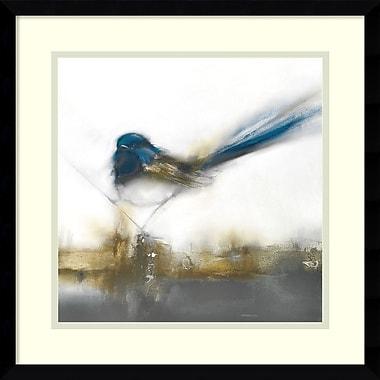Amanti Art ? J.P. Imprimé encadré Prior Little Blue, 17 x 17 po (DSW2971935)