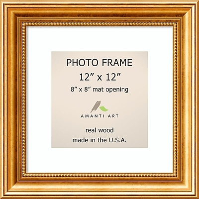 Amanti Art Townhouse Gold Wood Photo Frame 12