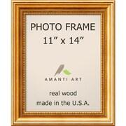 "Amanti Art  Townhouse Gold Wood Photo Frame 11"" x 14"" (DSW1385302)"