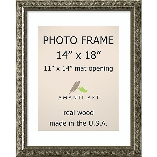 Amanti Art Barcelona Wood Photo Frame 14 X 18 Dsw1385284 Staples
