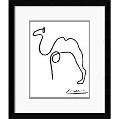 Amanti Art Pablo Picasso The Camel Framed Art Print, 12
