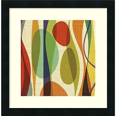 Amanti Art ? Imprimé encadré Positive Energy Sq 1 de Barry Osbourn, 18 x 18 po (DSW1421488)