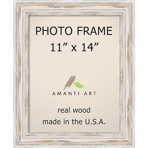 Alexandria Whitewash Photo Frame 14 X 17 Inch Dsw1385436 Staples