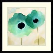 "Margaret Berg 'Calanthe I' Framed Art Print 17"" x 17"" (DSW2972133)"