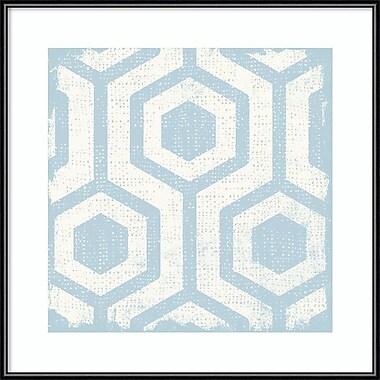 Amanti Art ? Impression encadrée « Winter Lattice Tile VIII » par Michael Mullan, 16 x 16 po (DSW2972509)