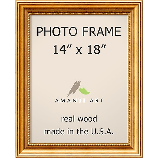 Townhouse Gold Photo Frame 17 x 21-inch (DSW1385303) | Staples