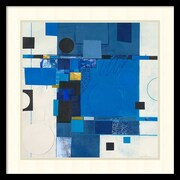 Amanti Art Deborah Colter 'Blueberry Hill I' Art Print 21 x 21 in. Black Satin Frame (DSW1418539)