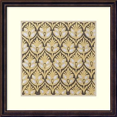 Amanti Art ? Impression encadrée « Indian Motif 7 », 18 x 18 po, cadre bronze foncé (DSW1418559)