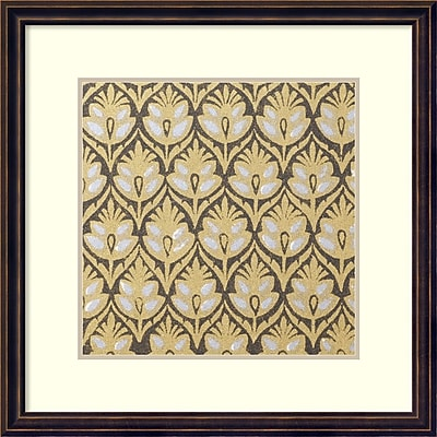 Amanti Art Indian Motif 7' Art Print 18 x 18 in. Dark Bronze Frame (DSW1418559)