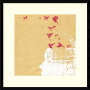 "Katie Edwards 'Open your mind 2' Framed Art Print 21"" x 21"" (DSW1421245)"