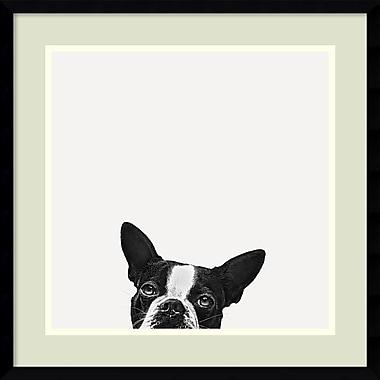 Amanti Art ? Impression « Loyauté » par Jon Bertelli, 20 x 20 po, cadre galerie noir mince (DSW1385035)