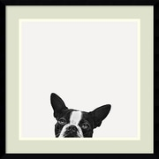 Amanti Art Jon Bertelli 'Loyalty' Art Print 20 x 20 in. Thin Black Gallery Frame (DSW1385035)