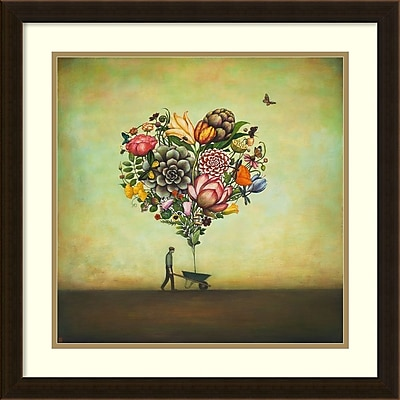 Duy Huynh 'Big Heart Botany' Framed Art Print 22