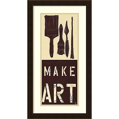 Kelsey Hochstatter 'Make Art' Framed Art Print 14
