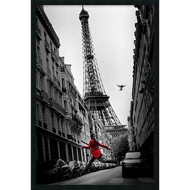 Amanti Art ? Impression encadrée « La veste rouge » avec fini en gel, 25 x 37 po (DSW1246006)