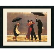 "Jack Vettriano 'The Singing Butler' Framed Art Print 24"" x 19"" (DSW1409740)"