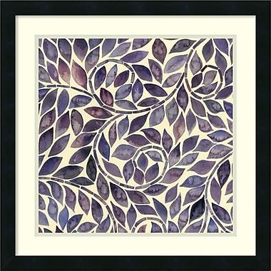 Amanti Art ? Impression encadrée « Tourbillon améthyste I » par Grace Popp, 22 x 22 po (DSW2969150)