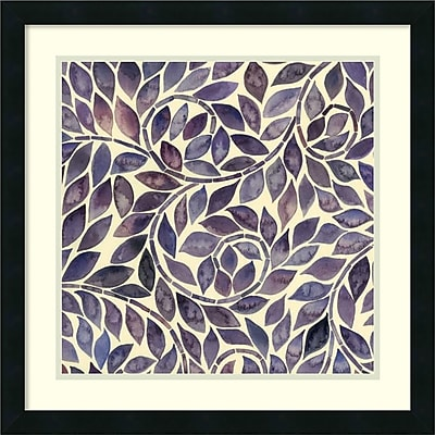 Grace Popp 'Amethyst Swirls I' Framed Art Print 22