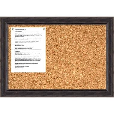 Amanti Art ? Tableau en liège pour messages, moyen, pin ancien, 28 x 20 po (DSW1418334)